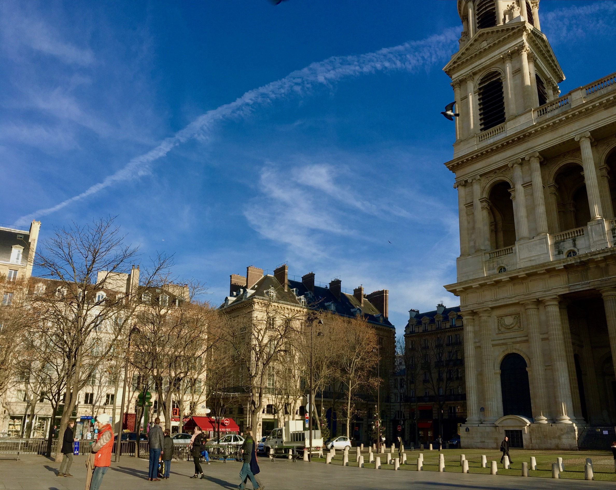 Place St. Sulpice - church and square